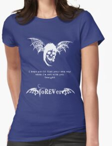 foREVer Fiction Quote  Womens Fitted T-Shirt