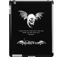 foREVer Fiction Quote  iPad Case/Skin