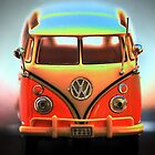 Volkswagon - Mint Van by David W Bailey