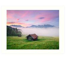 Alpen Glory Art Print