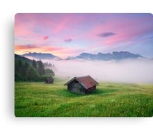 Alpen Glory Canvas Print