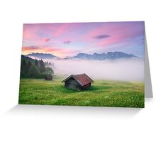 Alpen Glory Greeting Card