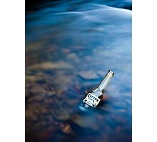 Corona in a creek Photographic Print