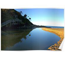Australian Lagoon Poster