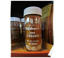 Ground Cinnamon Poster