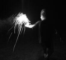 """Sparkler Fun 3""  by Carter L. Shepard by echoesofheaven"