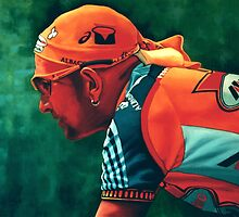 Marco Pantani The Pirate by PaulMeijering