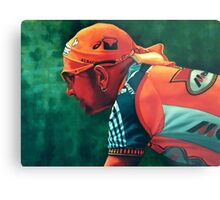 Marco Pantani The Pirate Metal Print