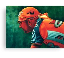 Marco Pantani The Pirate Canvas Print