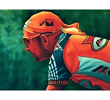 Marco Pantani The Pirate Photographic Print