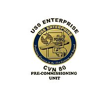 PCU Enterprise (CVN-80) Crest  by Spacestuffplus
