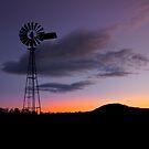 Country Sundown - Gatton Qld Australia by Beth  Wode