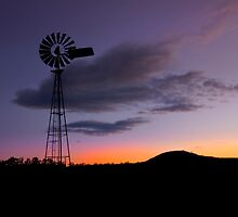 Country Sundown - Gatton Qld Australia by Beth  Wode