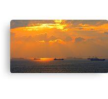 Sea of Marmara Canvas Print