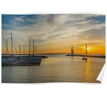 Lake Hefner,Oklahoma City USA Poster