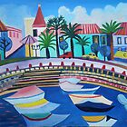 Faro harbour by Liz Allen