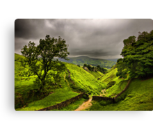 In England's green and pleasant land Canvas Print