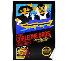 Super Corleone Bros Poster