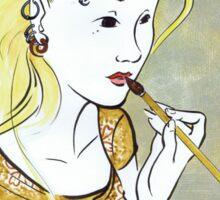 Utamaro's Girl Sticker