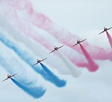 Red Arrows by Mark Kerton