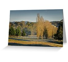 Frosty but Fine - near Hahndorf Greeting Card