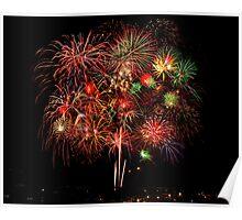 Freedom Fourth Fireworks Show - Albuquerque, New Mexico Poster