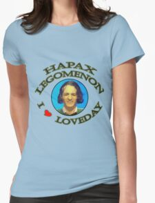 Hapax legomenon #2 Womens Fitted T-Shirt