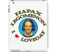Hapax legomenon #2 iPad Case/Skin