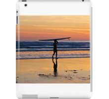 One more wave iPad Case/Skin