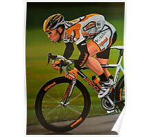 Mark Cavendish Painting Poster