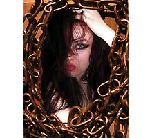 Mad Lucy Photographic Print