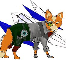 Fox McCloud by ClarePaterson