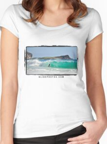 David Kelly- Makapuu Women's Fitted Scoop T-Shirt