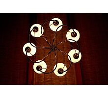 Circle of Light Photographic Print