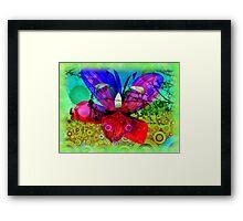 Blütentraum Framed Print