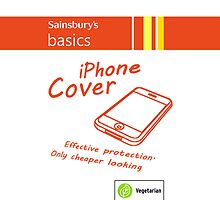 Sainsbury's Basics iPhone Cover by Ged J