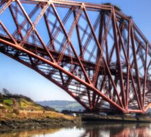 North Queensferry Reflections Sticker