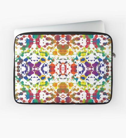 Rainbow Tears, White Laptop Sleeve