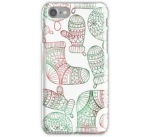 Simplified Christmas iPhone Case/Skin