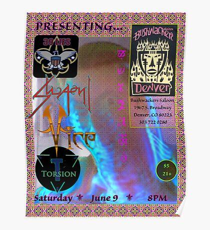 SWAMI @ Bushwackers Saloon Flyer Poster