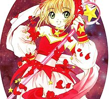 Cardcaptor Sakura Red Galaxy by Deathrosen
