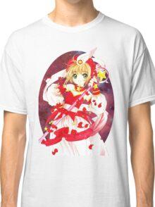 Cardcaptor Sakura Red Galaxy Classic T-Shirt