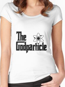 The Godparticle Women's Fitted Scoop T-Shirt