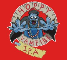 Hoppy Vampire IPA - Wild Pub Crawl Edition One Piece - Short Sleeve