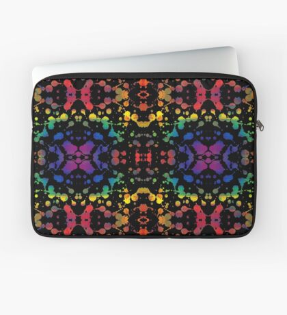 Rainbow Tears, Black Laptop Sleeve