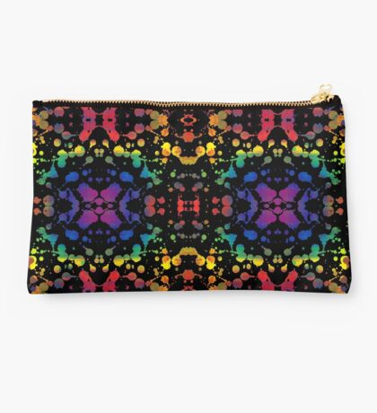 Rainbow Tears, Black Studio Pouch