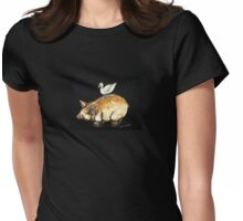 Farmyard Friends  Womens Fitted T-Shirt