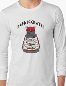 dalek -refrigerate Long Sleeve T-Shirt