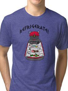 dalek -refrigerate Tri-blend T-Shirt