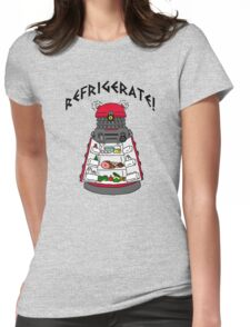 dalek -refrigerate Womens Fitted T-Shirt